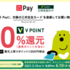 三井住友カード UNIQLO PayでVポイント20%還元キャンペーン