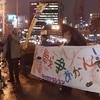 2017年3月6日ロックアクション 大阪市役所前集合で無事集会を行えました