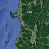 Google Earthで秋田県を見る