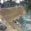 千田教授と行く三重県の田丸城 城壁の内側はこうなっていた