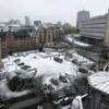 雪化粧の街へ