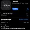 Tello Programming 000 -Tello本体の準備-