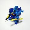 【アイロンビーズ3D】アニメ「機動戦士Ζガンダム」より、MSK-008 ディジェ