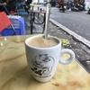 コーヒーを飲みながら 秋を感じて