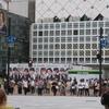 《東急》渋谷駅の改札を出たら青ガエルがいなくなってた!!!