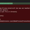 macで.NET CoreのSPAプロジェクトを動かすと謎のエラー