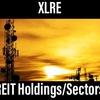 米国リート【XLRE】の構成銘柄/セクターの特徴とは?(2020年5月)