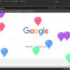 Twitterで誕生日に飛ぶ風船を再現するGoogle Chromeの拡張機能を作ってみた