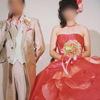 Y様結婚式*カクテルドレス&ご両親様贈呈* (霧島市 プリザーブドフラワー ハートローズ)
