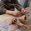 カゴ編み造形