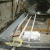 1971 マスタングマッハ1 リヤフレームの修正
