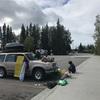 カナダ〜アラスカ旅 175,179,182日目 フェアバンクス
