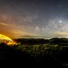 【天体撮影記 第98夜】 若松島と中通島を繋ぐ若松大橋と天の川 五島列島 2島目