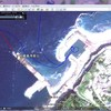 Google mapとGoogle Earthで伊豆七島巡り、小笠原航海が見られます。