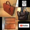 革製品関連(カバン、バッグ、財布など)のyoutube動画集(紹介・レビューなど)