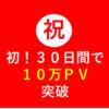 【10万PV/30日突破記念!アクセス解析と活用法】たった2つの簡単アクセス解析とブログ術などを公開