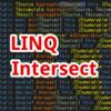 【C#,LINQ】Intersect~配列やリストの積集合が欲しいとき~
