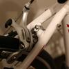 徒然なるままにクロスバイク(Vブレーキ仕様)にキャリパーブレーキ取付 格安DIY