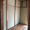 趣味大家、やっとこさリビングの壁が完成!!