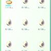 ポケモンGO 今夜ナイトウォークで10kmタマゴが5個孵化します(^^)