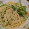 サイゼリヤおすすめ!季節限定パスタ「菜の花とエビのたらこクリームスパゲティ」食べて来たよ^^