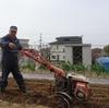 浜ちゃん日記    家庭菜園の管理機による作業
