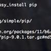 MacbookAir Python 3 をインストールする(OSX Sierra)
