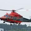 2019年9月3日(火) 新しい富山県の防災ヘリコプターJA119W「とやま」飛びました!(っていうか浮きましたかな)