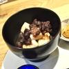 茗荷谷の「Cafe 竹早72」でくりぜんざい。