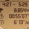 【マラソン日記】今季2度目の5000mタイムトライアル