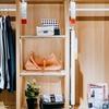 妳的衣櫃裡應該有幾件衣服?