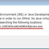 マインドマップソフト「Xmind」がJava関連のエラーが表示されて起動しないときの対処法