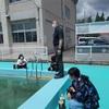 5月28日 プールにEM液を投入(6年)