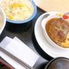 【グルメ】松屋のハンバーグ定食✨