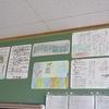 学校の掲示物⑥5年生 平洲先生について学んだこと、立ち上がれマイライン