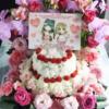 シンデレラガールズ4thLIVE神戸公演かな子&大坪さん宛楽屋花について