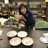 遠赤パワー陶器の下絵を己書花桃道場師範の森田香代さんに描いていただいた。すごいです!