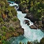 「アラティアティア ラピッズ(Aratiatia Rapid) 」~ ダムからの放流 ホビットの情景