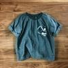 襟ぐりがだらしなく開いたTシャツを簡易的にお直しする方法(手縫いでOK)