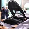 日産 GT-R50 by イタルデザイン ボンネットとトランクリッドの開き方が想像と違った