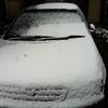 昨日から名古屋は雪