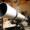 8cm屈折赤道儀--30年ぶりの天体望遠鏡