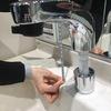 カタログでは分からない LIXILの洗面化粧台 ルミシスのシングルレバーシャワー水栓は洗髪できる機能があります