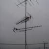 前橋局にローバンド用UHFアンテナを向ける。