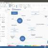 Linux対応のデータフロー図作成ツール
