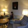 ホテルのスイートルームに泊まってきました!!