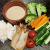 初めて作る色々野菜のバーニャカウダ