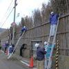 大沢・上大沢の間垣修理ボランティア募集中です