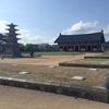 韓国旅行二日目(6)。クドレ船着場から定林寺址、国立扶余博物館。雑念を持った