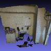 MeshLab で Kinect v2 の点群データからテクスチャ付きメッシュを作成する